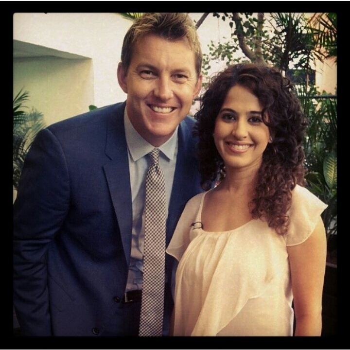 brett lee and kamiya jani