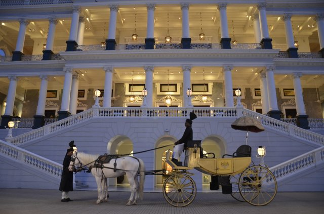 Taj falak hyderabad palace