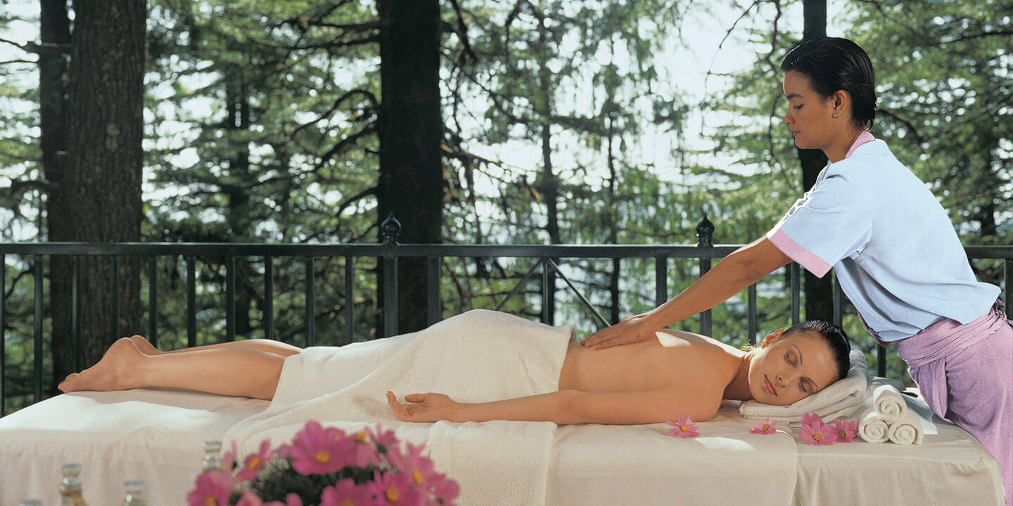 Mountain Spa at Oberoi Wildflower Hall