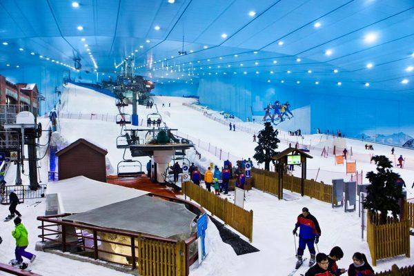 Credits: Ski Dubai Facebook