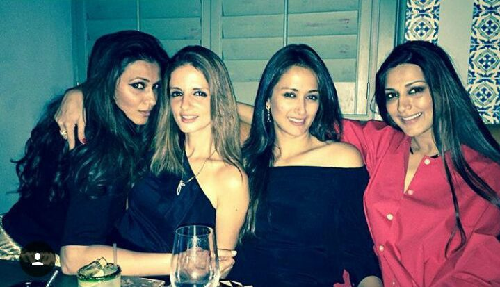 Sussanne Khan and Sonali Bendre
