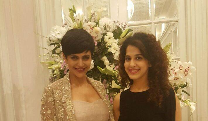 Mandira Bedi and Miss Jani