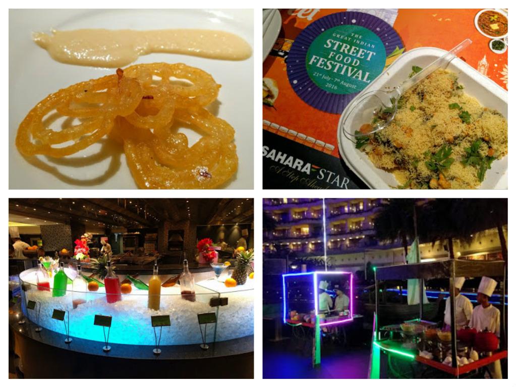 Street Food Festival at Hotel Sahara Star