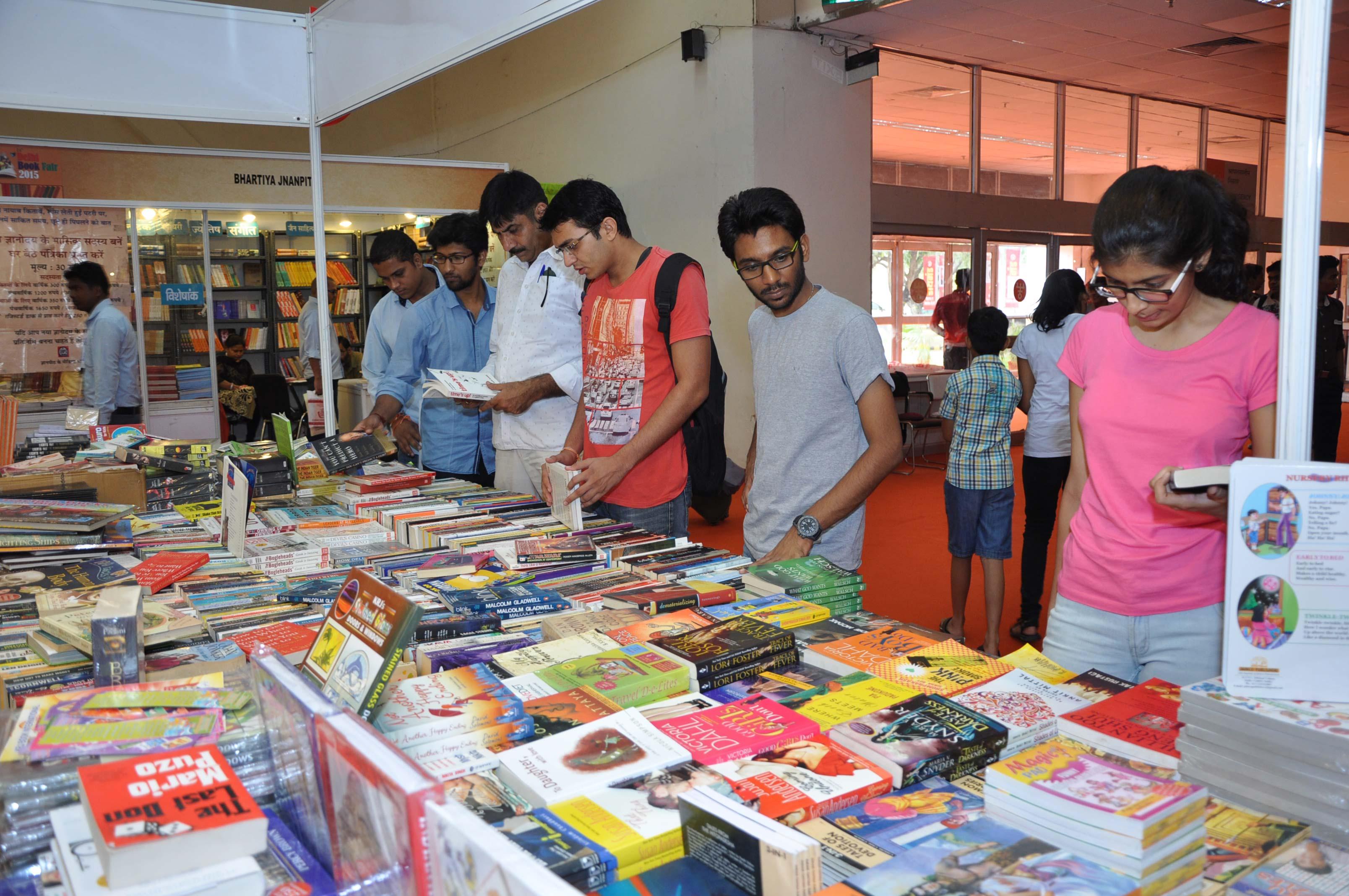 Delhi book fair