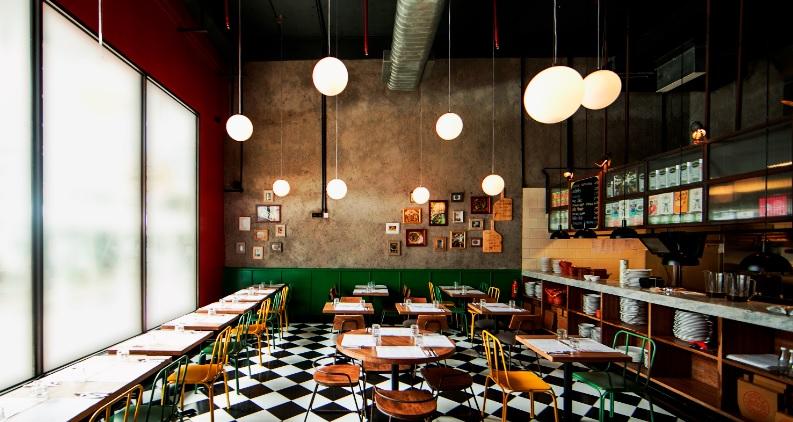 jamie's pizzeria interior