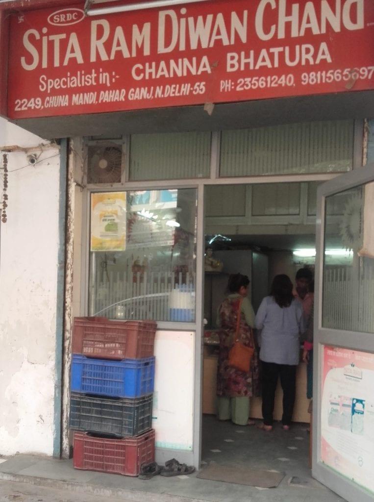 Sita Ram Diwan Chand shop