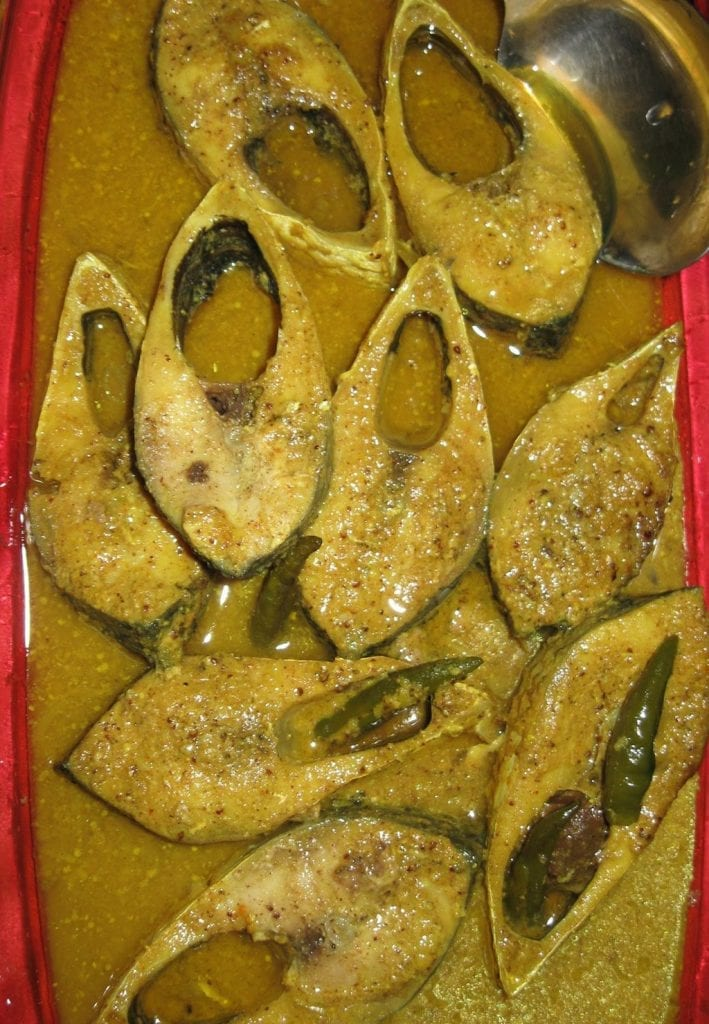 Bhapa Ilish. Picture courtesy: Wikimedia