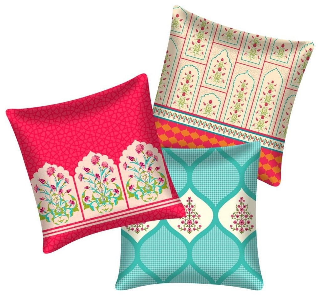 Desi beat cushions.