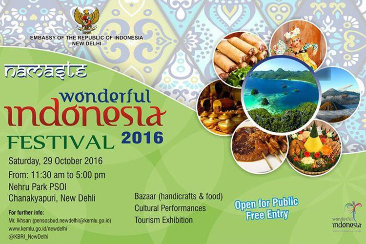 Namaste Wonderful Indonesia Festival 2016. Picture courtesy: eventshigh.com