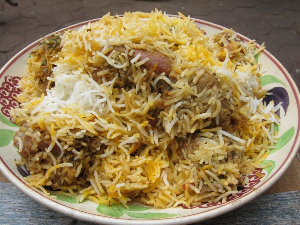Mutton dum biryani. Courtesy: Pinterest