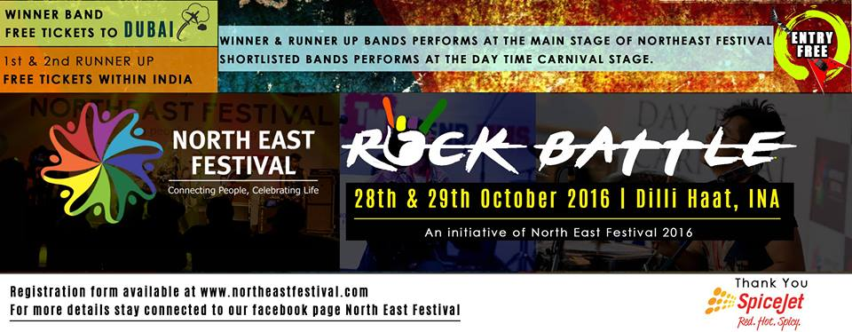 Northeast Rock Battle Festival. Picture courtesy: Facebook