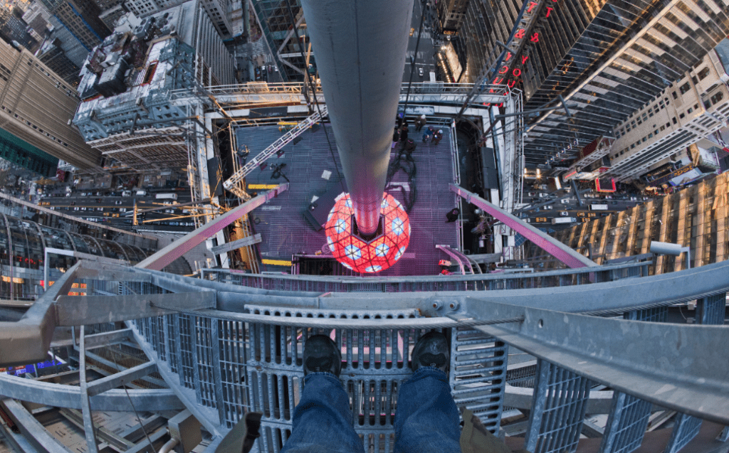 Ball Drop at Times Square