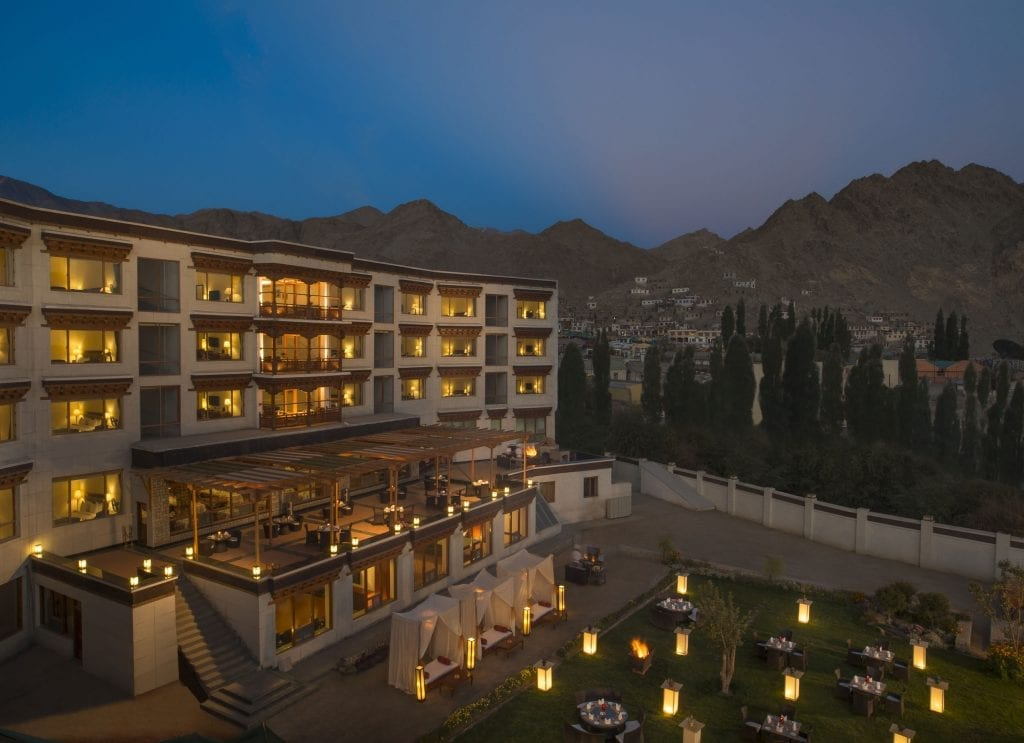 facade-the-grand-dragon-hotel-ladakh-garden-side-night-shot