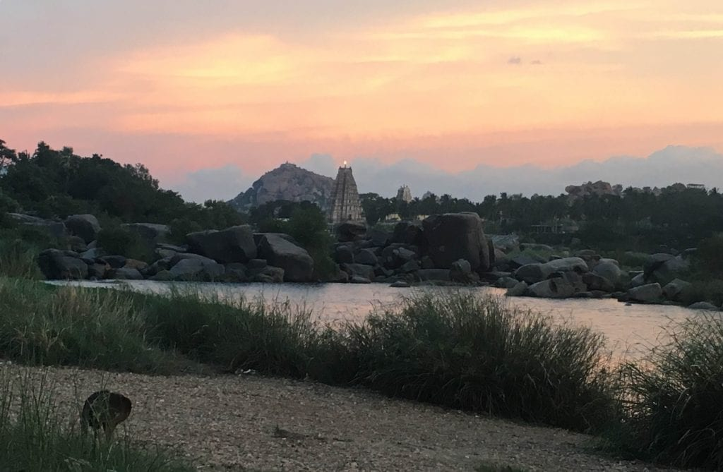 Sunset By The TUNGABHADRA
