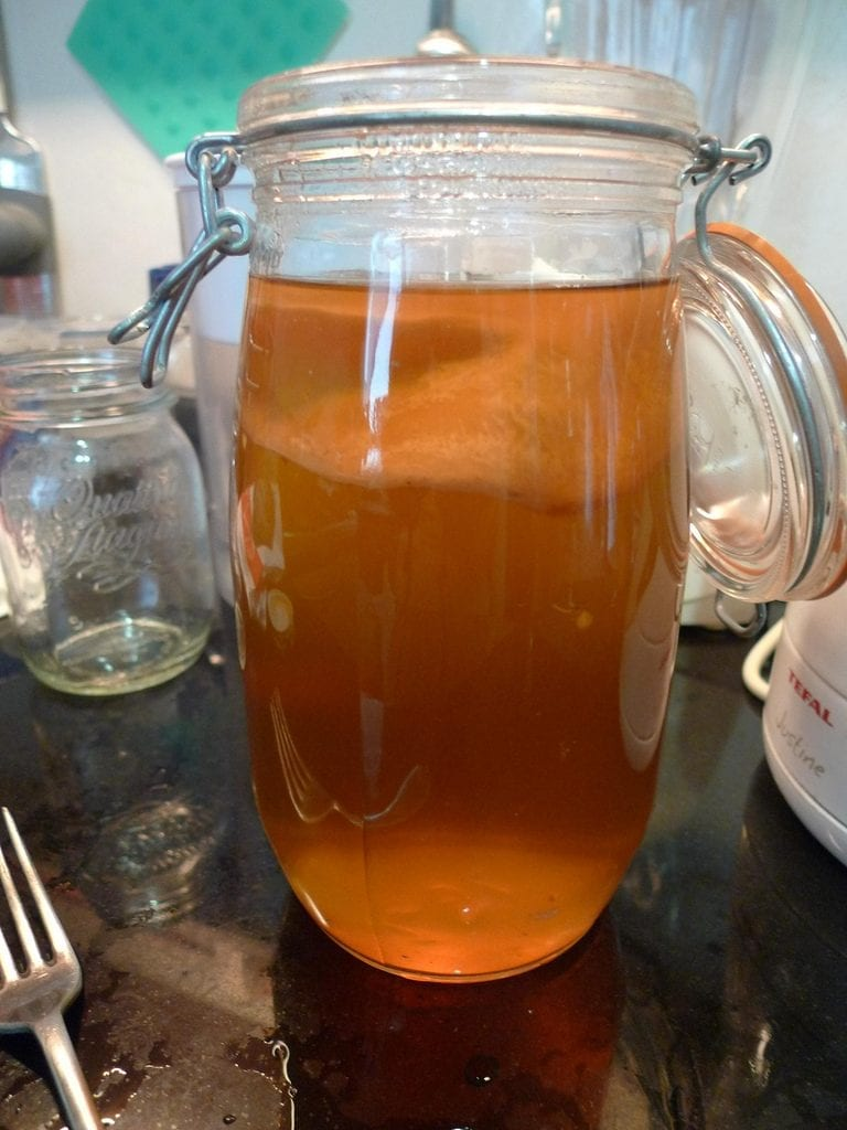 Kombucha tea. Picture for representation