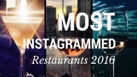 instagrammed restaurants of 2016