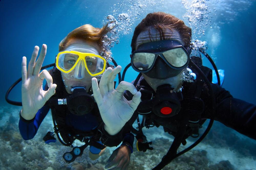Equalize Underwater