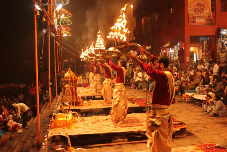 Ganga Aarti.