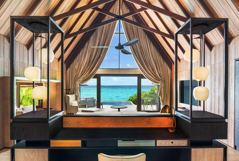 Beach Villa St Regis Maldives
