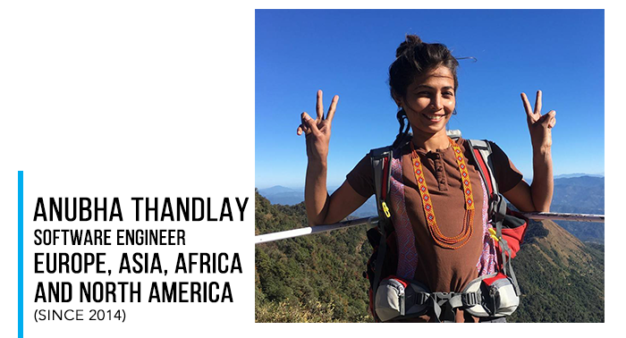 Anubha Thandlay (Woman Solo Traveller)