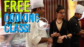 Learn International Cuisine for Free