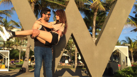 Dimple Jhangiani's Honeymoon Update