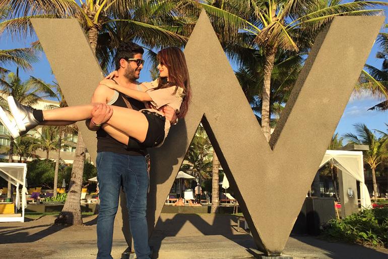 Dimple Jhangiani's Honeymoon Update