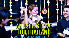 Vj Anusha's Love For Thailand #InAMinute