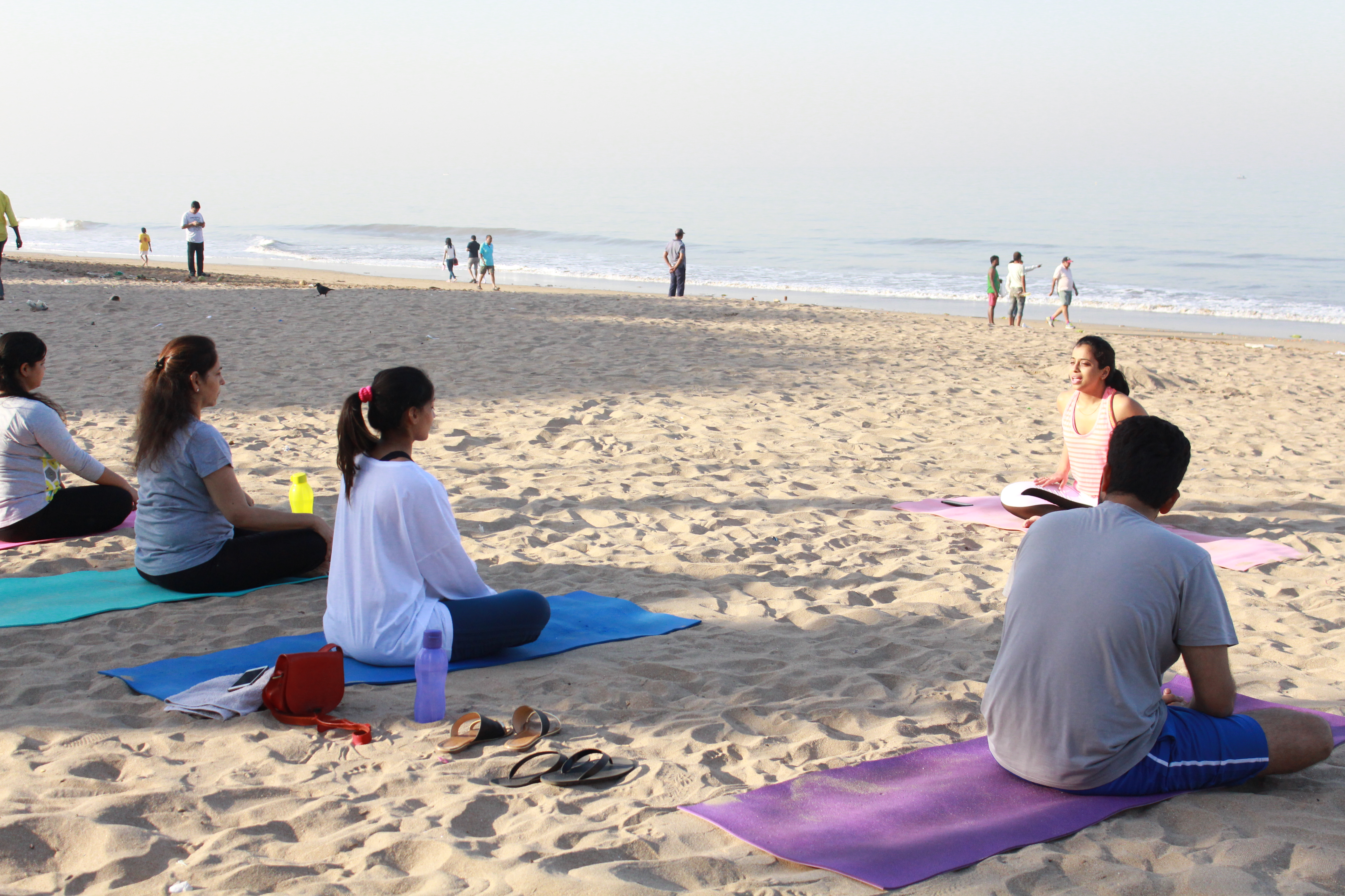 Yoga By The Beah With Shweta D'Souza