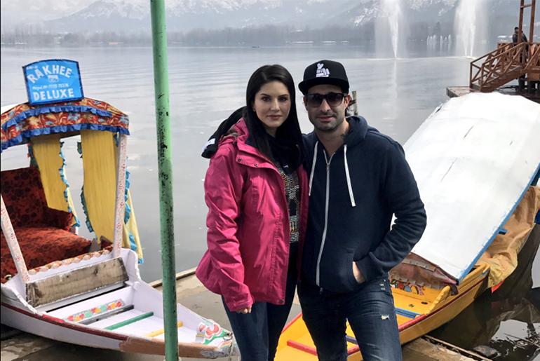 Sunny Leone in Gulberga, Kashmir