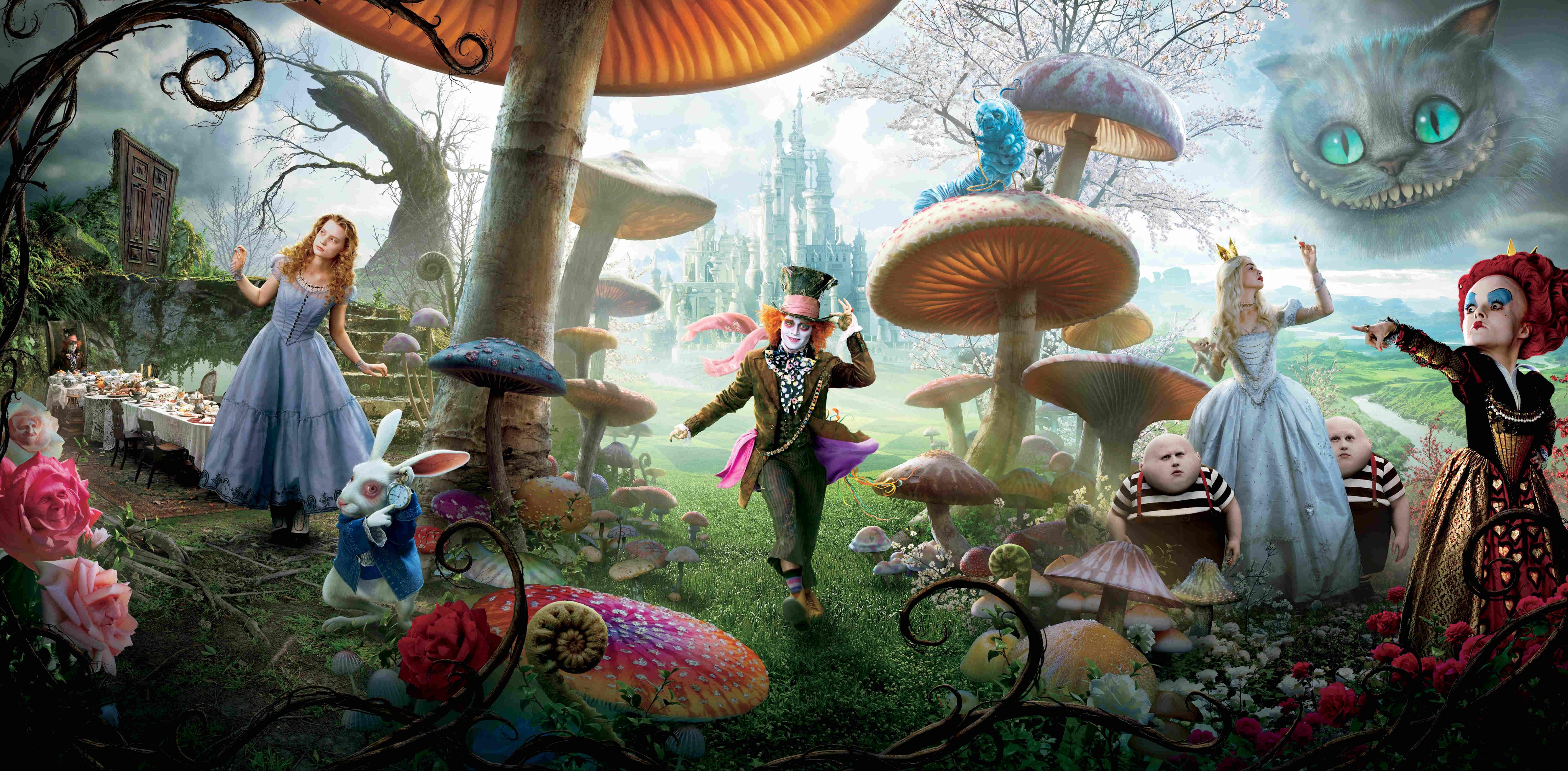 Wonderland from Alice in Wonderland