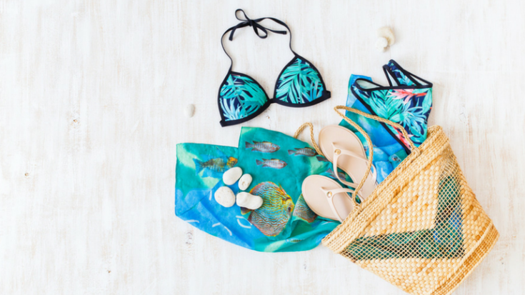 beach packing