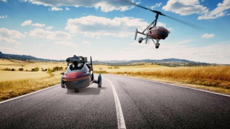 Liberty Sport, flying car