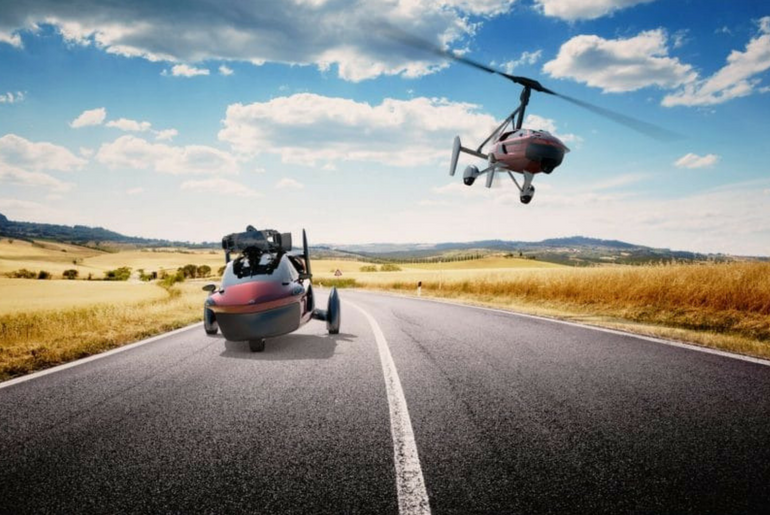 Liberty Sport, flying car