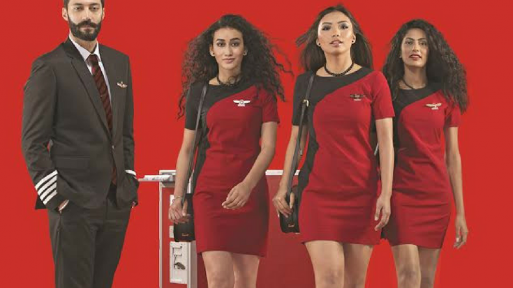 Spicejet To Dress Its Air Hostesses In A Red Hot Spicy