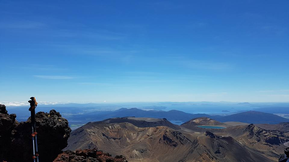 From the top of Mount Nguruahoe