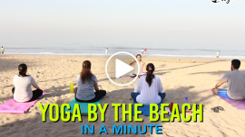 Feature: Yoga By The Beach with Shweta