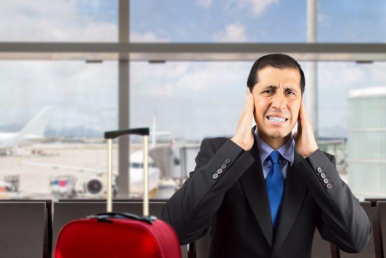 Annoying people on flight