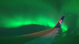 Aurora Australis Light Display