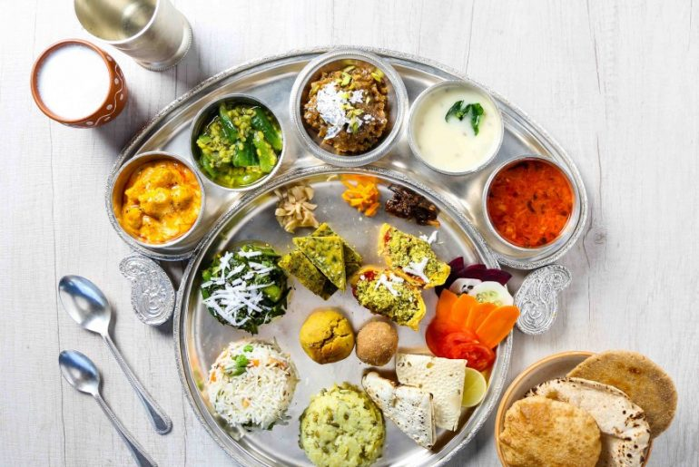 Pravas Thali - Authentic Gujarati Food