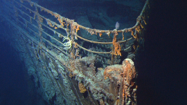Titanic Wreck Feature