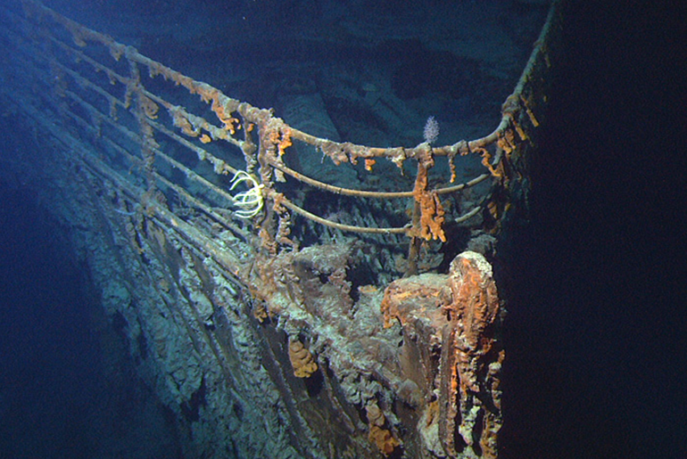 Titanic Wreck Feature