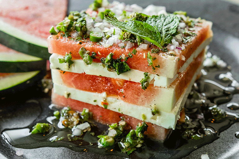 Try Some Feta with your Watermelon