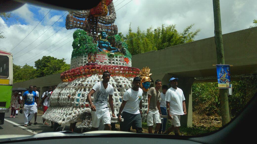 Shiva Procession In Mauritius