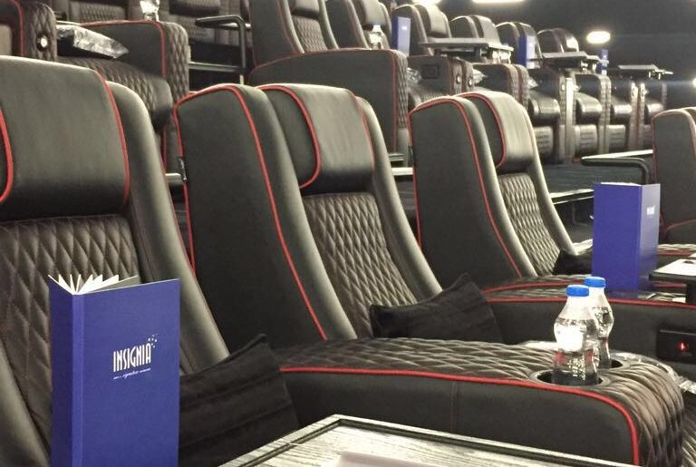 Leather seats with hi-class technology at INOX