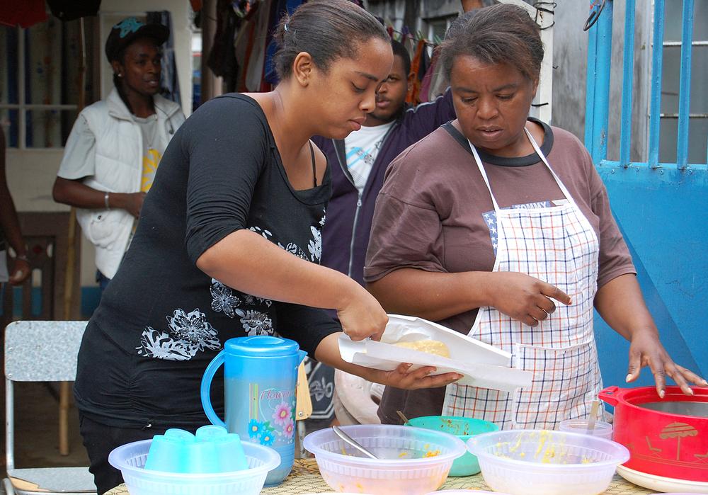Locals in Mauritius