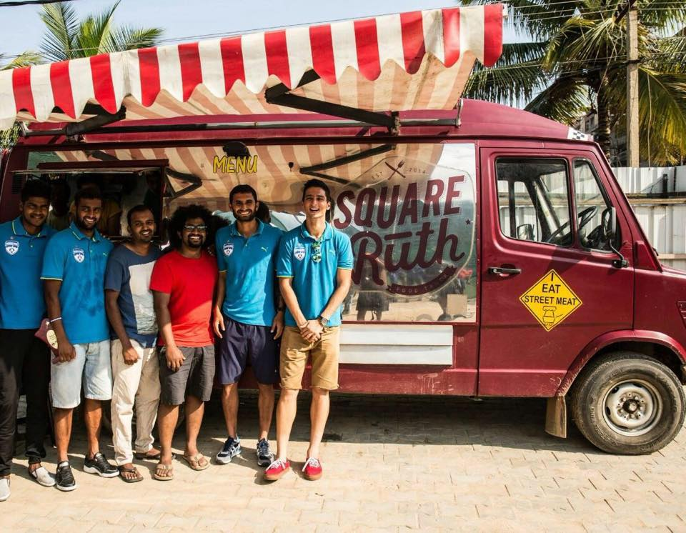 Square Ruth Food Truck in Bangalore