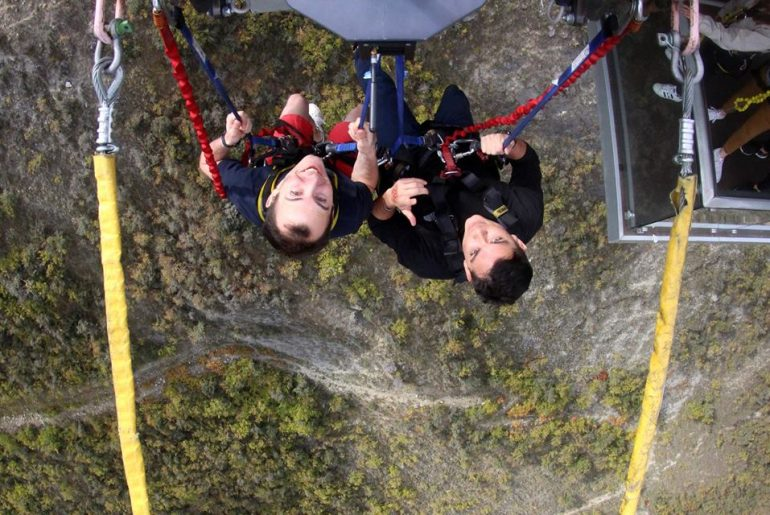 The Nevis Swing in New Zealand