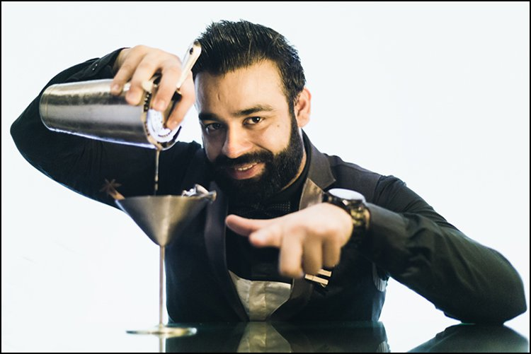 Arjun Chaudhary - Co-founder & Head Bar Chef, No Vacancy Bar Kitchen