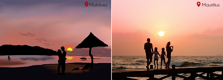Company in Maldives vs Company in Mauritius